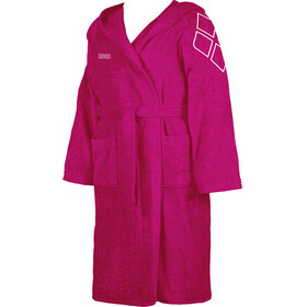 arena Zodiaco Bathrobe Kids fuchsia-white